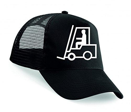 Snapback PALETTEN Transporter- GEGENGEWICHTSSTAPLER- Stapler Karren- Piktogramm- ANMELDEN- Arbeit- LOGISTIK Unisex Baseballmütze Trucker Mützen Base Caps