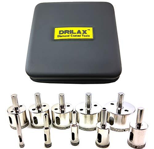 Drilax™ 10 Pcs Diamond Drill Bit Set