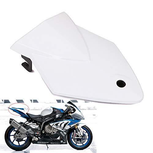 JFG RACING Capot de siège arrière passager pour moto S1000RR 09–14 (Blanc)