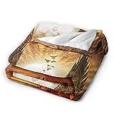 Jared Padalecki Sam Winchester tural Jensen Ackles Dean manta suave, manta de cama de felpa ligera, adulto y niño de 203 x 152 cm