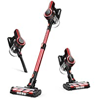 Aposen 250W Powerful Brushless Strong Suction Cordless Vacuum Cleaner with Detachable Battery