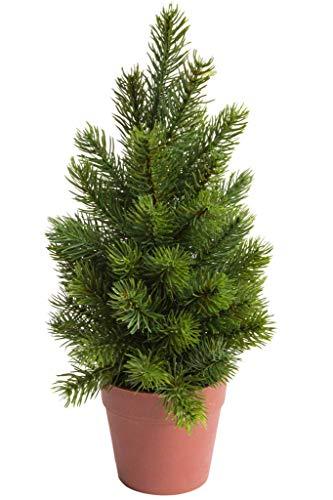 Flora-Seta künstlicher Tannenbaum/Tannenbusch (im Kunststofftopf)