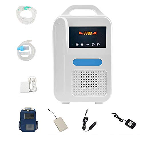 Draagbare Zuurstofconcentrator O2 Generatoren Air Purifier Ventilator Sleep MINI Zuurstof voor huis, helpt slaap,K2