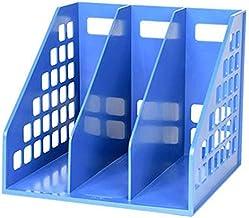 GZWXJY Szafy Plików Uchwyt Plik Dekoracjebooks Box Pudełko Przechowywanie Uchwyt Desktop Dane Proste Stojak Kosz Kosz, Pol...