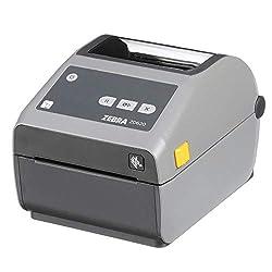 Zebra ZD620d Direct Thermal Desktop Printer 203 dpi Print Width 4 in Ethernet Serial USB ZD62042-D01F00EZ