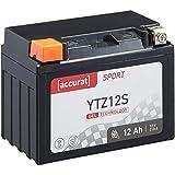 Accurat Motorradbatterie Sport Sport YTZ12S 12 Ah 210 A 12V Gel Technologie Starterbatterie in...