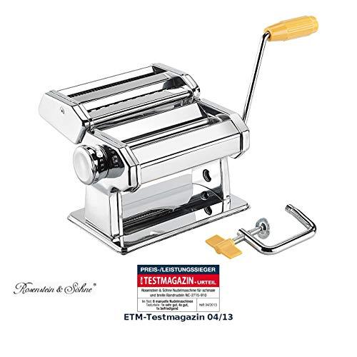 Machine à pâtes manuelle Rosenstein & Söhne [Rosenstein & Söhne]
