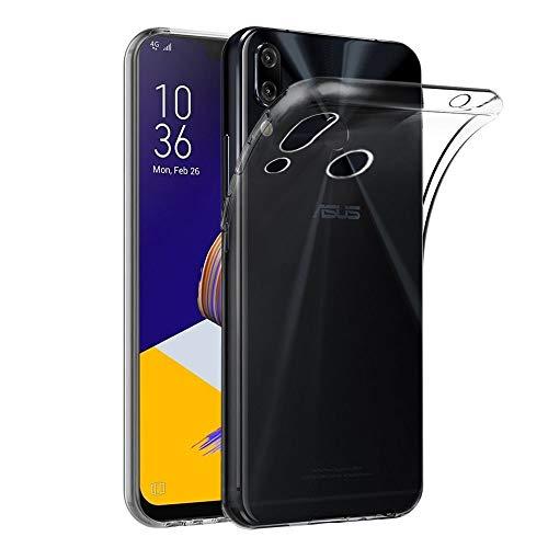 ebestStar - kompatibel mit Asus Zenfone 5 Hülle ZE620KL, 5Z ZS620KL Handyhülle [Ultra Dünn], Premium Durchsichtige Klar TPU Schutzhülle, Soft Flex Silikon, Transparent [5/5Z: 153x75.7x7.9mm, 6.2'']