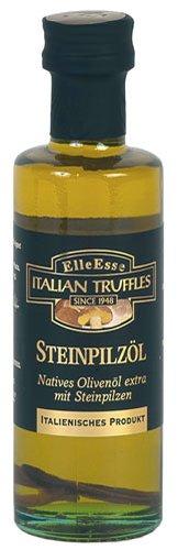 Elle Esse Steinpilz-Öl, Natives Olivenöl extra mit Steinpilzen, aus Italien - 6x 100 ml