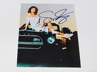 Bull Durham Annie' Sexy Susan Sarandon Signed Autographed 8x10 Glossy Photo Loa