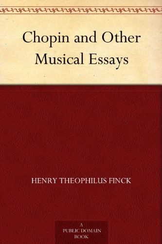 Chopin other musical essays term paper example