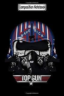 Composition Notebook: Top Gun - Maverick Helmet Movie Notebook 2020 Journal Notebook Blank Lined Ruled 6x9 100 Pages