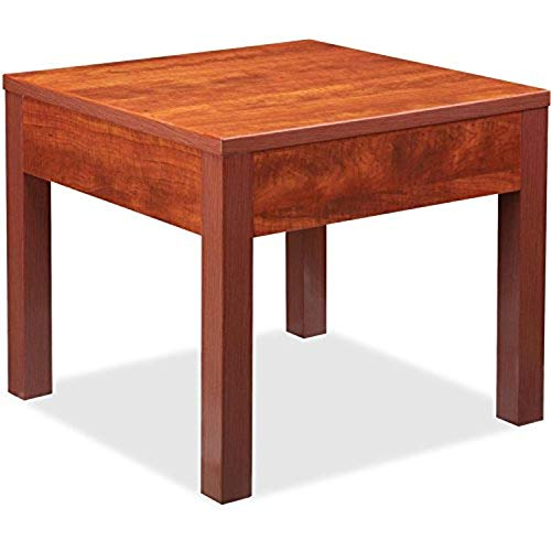 "Lorell Occasional Corner Table, 0.5"" Height X 50"" Width X 36.4"" Length"