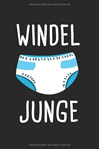 Windel Junge: ABDL & Adult Baby Notizbuch 6'x9' Rollenspiel Geschenk für Erwachsene & Windel-Jungen