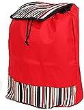 Carro de Compra Compras Bolsa, Carrito de la compra de reemplazo bolsillos bolsa con el lado, Oxford tela impermeable bolsa de almacenamiento, Spare bolsa for carro, 44L (Tamaño: 40x22x50cm) Trolley B