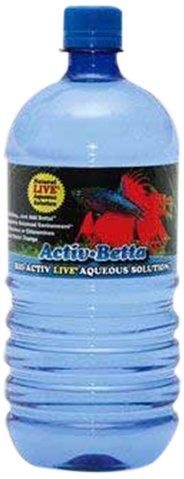 Worldwide Imports AWWA10961 Bio Activ Betta Water for Aquarium Décor 33.8 fl.oz. (Single Bottle)