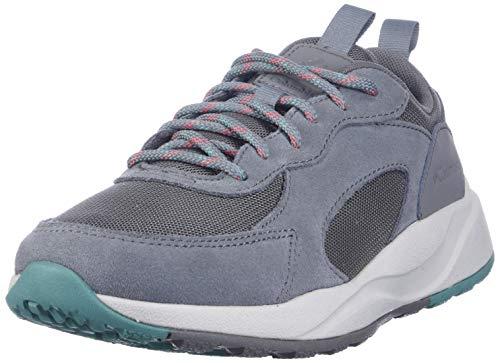Columbia Women's Pivot Hiking Shoe, Stratus/Juicy, 5.5