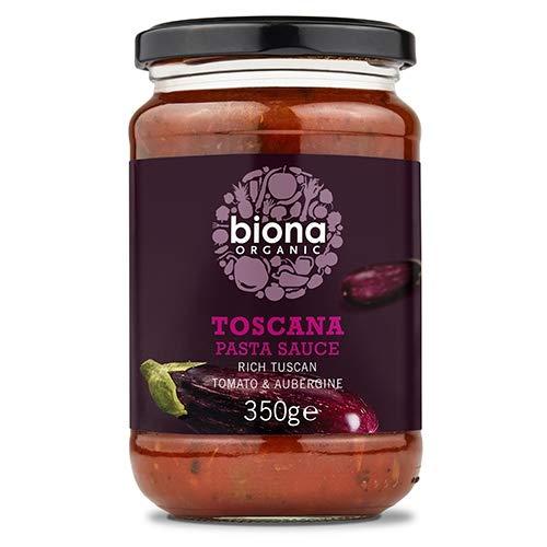 Biona, Toscana Pasta Sauce mit Auberginen, BIO, [1 x 350g.]