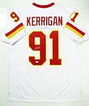 Autographed Signed Ryan Kerrigan White Pro Style Jersey - Memorabilia JSA Authentic 9