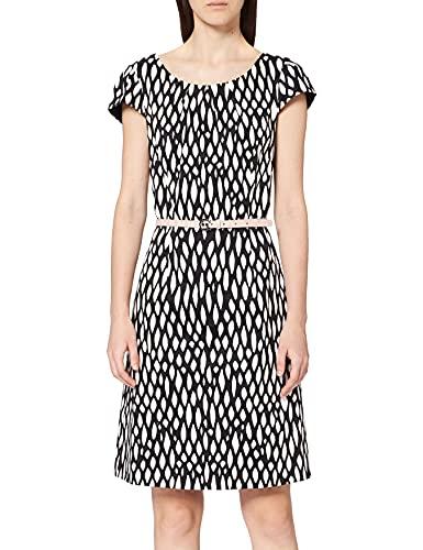 comma Damen 85.899.82.1049 Kleid, Mehrfarbig (99a1 AOP 99a1), (Herstellergröße: 42)