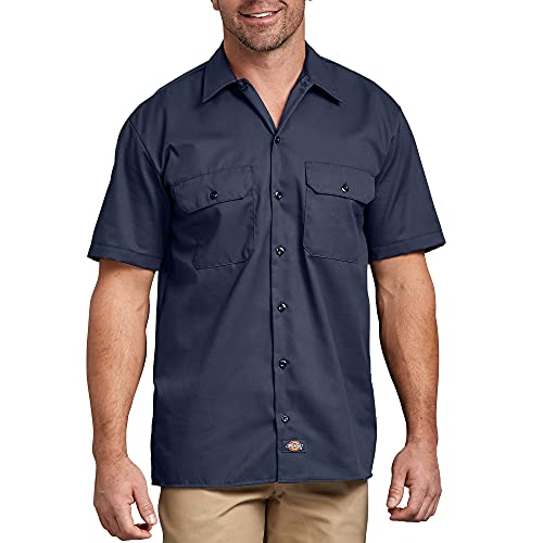 Dickies Work Chemise Manches courtes Homme - Bleu (Navy Blue) - 3XL