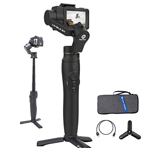3-Axis Gimbal Stabilizer for Gopro Hero 8/7/6/5,Handheld Gimbal Selfie Stick Extend 7.1',FeiyuTech Vimble 2A