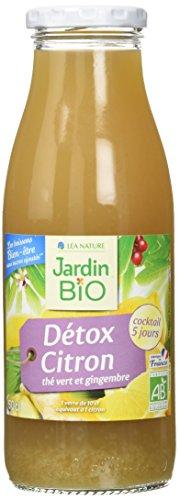Jardin Bio Detox Citron 509 g - Pack de 6
