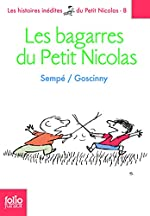 Les histoires inédites du Petit Nicolas - 8 Les bagarres du Petit Nicolas de René Goscinny