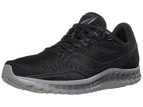 Saucony Men's Kinvara 11, Blackout, 7 Medium