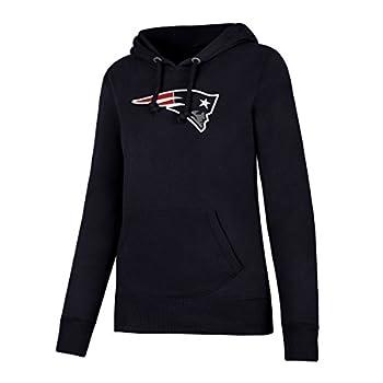 OTS NFL New England Patriots Women s Fleece Hoodie Logo X-Large
