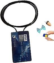 PierTech® 2015 Model GSM Neckloop Credit Card Earpiece Spy Bluetooth Kit SIM Covert Student Cheat Copy Exam Test ID Box Loop Surveillance Security Micro Invisible Loopset Hidden Mobile Portable Gadget Set