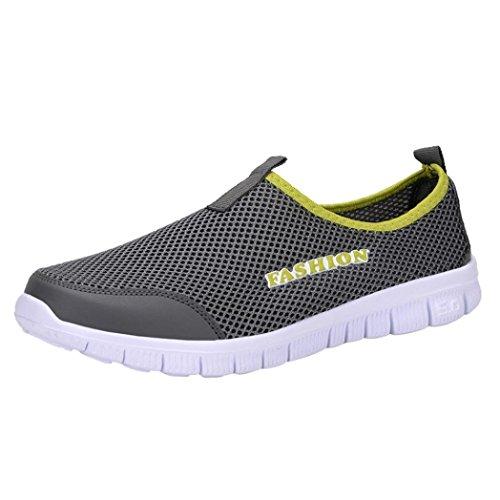Mocasines Zapatos Sandalias Malla Respirable Hombre