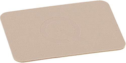 greenteQ Premium Unterlegplatten - Abstandshalter, Plättchen aus Kunststoff | hohe Tragkraft | 100 Stück 60x40x1mm Beige