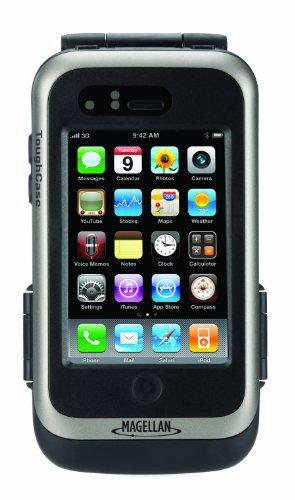 Magellan Extra - Carcasa con Receptor GPS y batería para iPhone o iPod