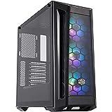Cooler Master MasterBox MB511 RGB - Case PC ATX con Pannello Frontale Meshato, 3 x 120mm Ventole Premontate, Pannello Laterale in Vetro, Configurazioni Airflow Felssibili - RGB