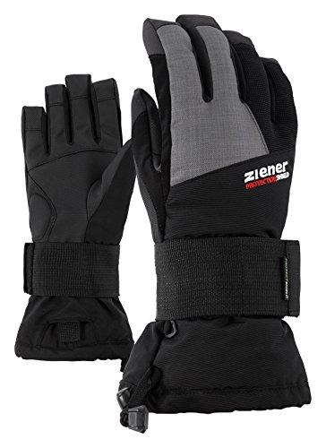 Ziener Kinder Merfy Junior Glove Sb Snowboard-handschuhe, black, L
