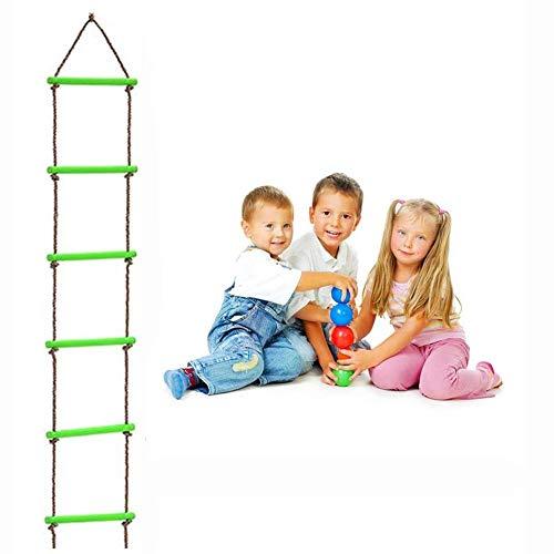 YLJYJ Enfants Escalade Corde Échelle Trapeze Bar Balançoires Suspendues Gymnastique Balançoire pour Jeux de Balançoire en Plein Air Jeux De Cour