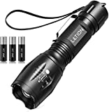 LETION LED Torch, UV Light 2 in 1 UV Torch Black...