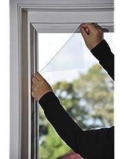Vliegengaas, raam, 150 x 180, antraciet, individueel in te korten, insectenbescherming, vliegennet, raamnet, muggennet, muggengaas, raamgaas (1, vliegengaas)