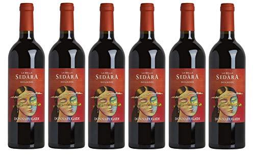 Donnafugata La Bella Sedara DOC Sizilianischer trocken Rotwein [ 6 Flaschen x 750ml ]
