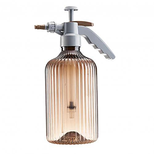 NFRADFM Regadera,Regadera al aire libre,2L de riego transparente de alta presión,Botella de spray de crecimiento vegetal,Herramienta de riego de rociador