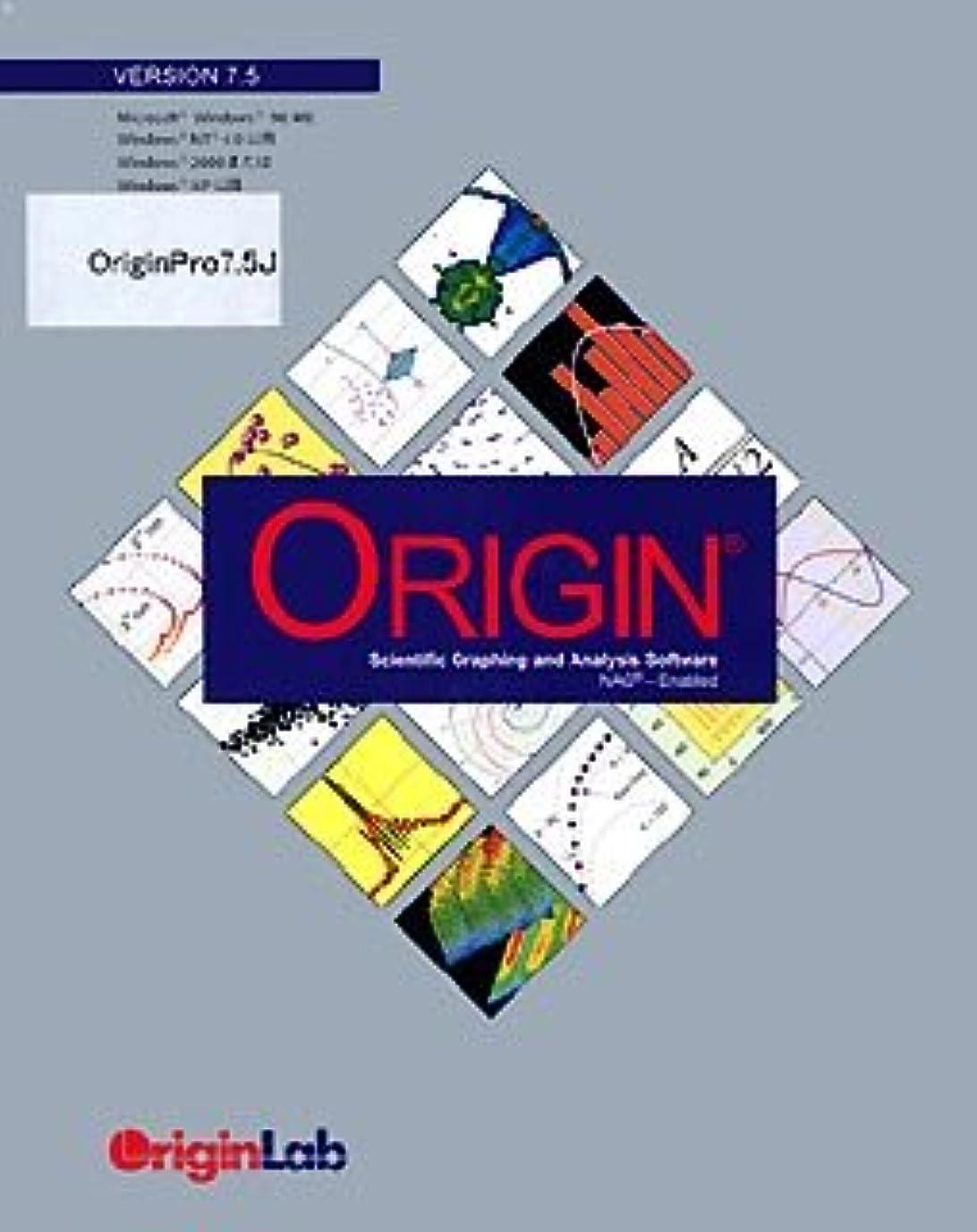 魅力的であることへのアピール結果として登るOrigin Pro 7.5J