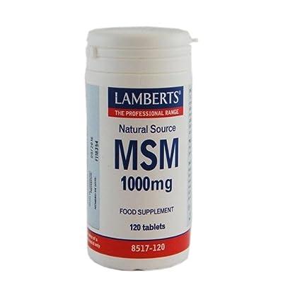 Lamberts - 120cap Msm 1000mg