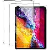 【2枚セット】iPad Pro 11 ガラスフィルム (2020/2018) 日本旭硝子製/硬度9H/高透過率/飛散防止/気泡防止/指紋防止/3Dタッチ iPad Pro 11対応 強化ガラス 液晶保護フィルム (11インチiPad Pro)