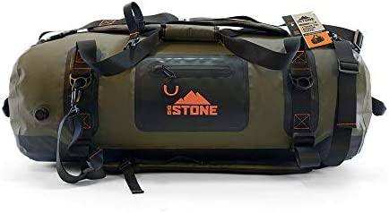 Big Stone Fully Waterproof airtight Submersible Heavy Duty Rugged Scuba Zipper Dry Bag Carry product image