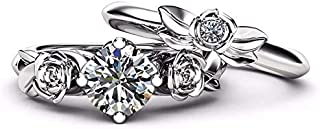 2 Ring with Crystal for women