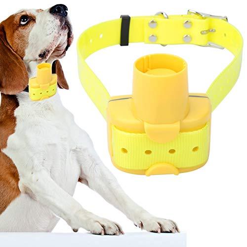 6,5 x 4 x 7 cm, Resistente y Duradero, Beeper de Caza para Perros Amarillo, Collar de Beeper para Perros, 8 Tonos seleccionables para Perros de Caza, Entrenamiento al Aire Libre
