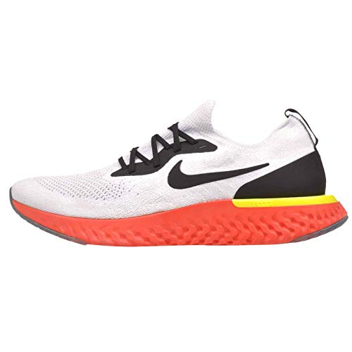 Nike Epic React Flyknit Chaussures de course pour homme, (College Navy/Hyper Jade/Sail/Red Orbit),...