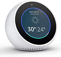 "Amazon Echo Spot Clock Smart Alexa Assistant White Compact 2.5"" Smart Display with Alexa"