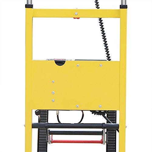 Electric Folding Stair Climbing Hand Truck, Cart Dolly 440lb. Max Load Heavy Duty US Stock